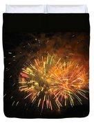 Fireworks IIi Duvet Cover by Tiffany Erdman