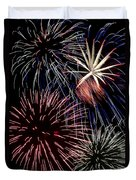 Fireworks Spectacular Duvet Cover by Jim and Emily Bush