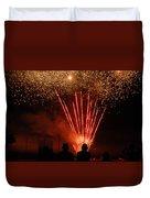 Fireworks Duvet Cover by Vonnie Murfin