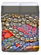 Fishing Bouys Duvet Cover by Heidi Smith