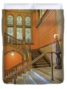 Flagler College Entryway Duvet Cover by Rich Franco