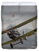 Flander's Skies Duvet Cover by Pat Speirs