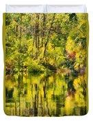 Florida Jungle Duvet Cover by Christine Till
