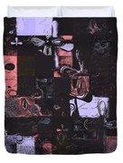 Florus Pokus 01e Duvet Cover by Variance Collections