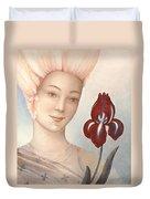 Flower Fairy Duvet Cover by Judith Grzimek
