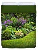 Flower Garden Duvet Cover by Elena Elisseeva
