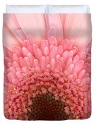 Flower - I Love Pink Duvet Cover by Mike Savad