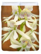 Flower - Orchid - A gift for you  Duvet Cover by Mike Savad