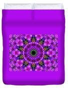 Flower Power Duvet Cover by Kristie  Bonnewell