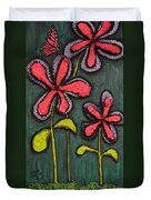 Flowers For Sydney Duvet Cover by Shawn Marlow