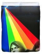 'floyd' Duvet Cover by Christian Chapman Art