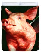 Flying Pigs v1 Duvet Cover by Wingsdomain Art and Photography