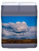 Flying Rain Spirit Duvet Cover by Omaste Witkowski
