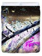 Flying Trees Duvet Cover by Hilde Widerberg