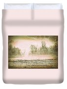 Fog Abstract 1 Duvet Cover by Marty Koch