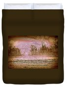 Fog Abstract 3 Duvet Cover by Marty Koch
