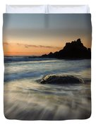 Fogarty Tides Duvet Cover by Mike  Dawson