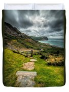 Follow The Path Duvet Cover by Adrian Evans