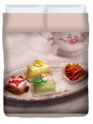 Food - Sweet - Cake - Grandma's Treats  Duvet Cover by Mike Savad