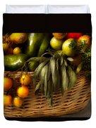 Food - Veggie - Sage Advice  Duvet Cover by Mike Savad