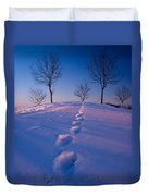 Footsteps Duvet Cover by Cale Best