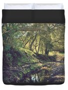 For A Time You Were Mine Duvet Cover by Laurie Search