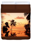 For You. Dream Comes True II. Maldives Duvet Cover by Jenny Rainbow