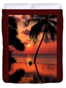 For You. Dream Coming True I. Maldives Duvet Cover by Jenny Rainbow