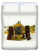 Fordson Tractor Plentywood Montana Duvet Cover by Jeff Swan