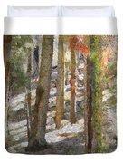 Forest for the Trees Duvet Cover by Jeff Kolker