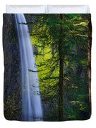 Forest Mist Duvet Cover by Chad Dutson