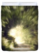 Forest Tunnel Duvet Cover by Wim Lanclus