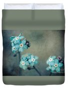 Forget Me Not 01 - S22dt06 Duvet Cover by Variance Collections