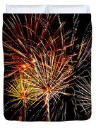 Fourth of July Fireworks  Duvet Cover by Saija  Lehtonen