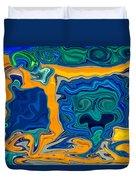 Framed Duvet Cover by Omaste Witkowski