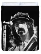Frank Zappa - Watercolor Duvet Cover by Joann Vitali