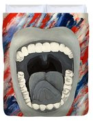 Americas Voice Duvet Cover by Scott French