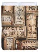 French Corks Duvet Cover by Debbie DeWitt