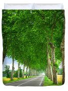 French country road Duvet Cover by Elena Elisseeva