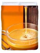 Fresh Espresso Duvet Cover by Carlos Caetano