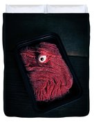 Fresh Ground Zombie Meat - Its What's For Dinner Duvet Cover by Edward Fielding