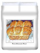 Fresh Homemade Bread 2 Duvet Cover by Barbara Griffin