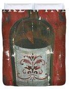 Friendships Like Wine Duvet Cover by Debbie DeWitt