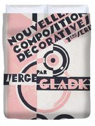 Front cover of Nouvelles Compositions Decoratives Duvet Cover by Serge Gladky