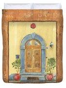 Front Door 1 Duvet Cover by Debbie DeWitt