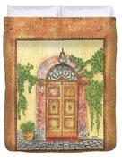 Front Door 2 Duvet Cover by Debbie DeWitt