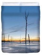 Frost Bite Duvet Cover by Michael Ver Sprill