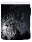 Frost Night Duvet Cover by Erik Brede