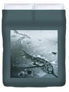 Frozen Pond Duvet Cover by Gary Eason