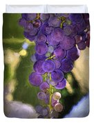 Fruit of the Vine Duvet Cover by Donna Kennedy